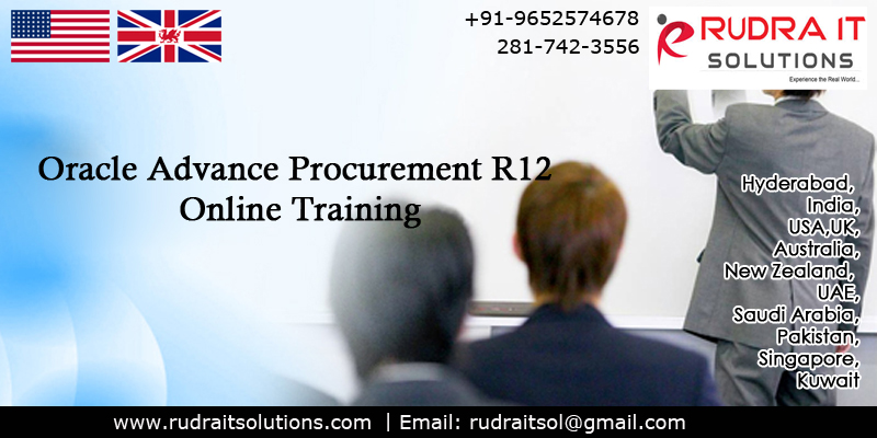 Oracle Advance Procurement