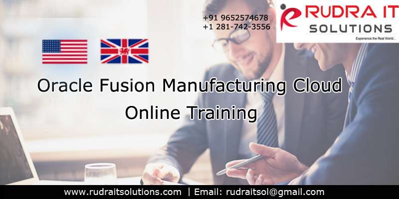 Oracle Fusion Manufacturing Cloud